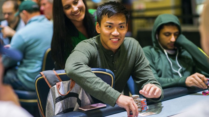Tan Nguyen Grabs Early Land in WPT Bestbet Bounty Scramble Main Event