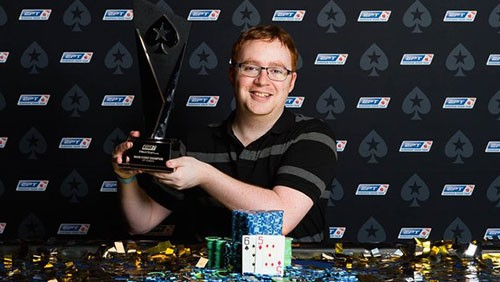 Niall Farrell wins a bracelet and a Triple Crown
