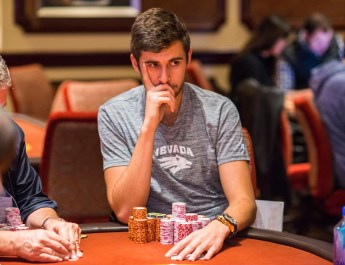 18 PLAYERS REMAIN, BUT ONLY SIX WILL MAKE SUNDAY'S POKERGO LIVE STREAM