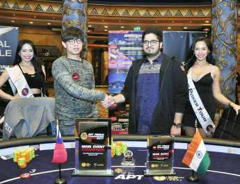 Super Play Varun Gupta Wins the Asian Poker Tour Finale Macau Main Event For HK$300,400