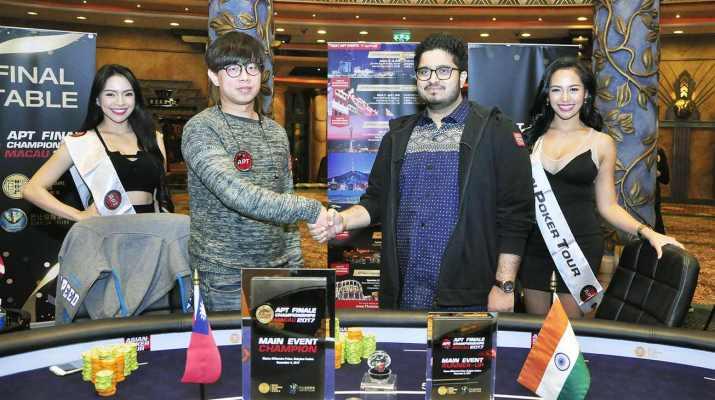 Super Play Varun Gupta Wins the Asian Poker Tour Finale Macau Main Event For HK$300,400