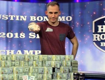 Justin Bonomo Wins 2018 Super High Roller Bowl