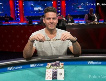 Gal Yifrach Wins First Gold Bracelet in 2018 WSOP $3,000 No-Limit Hold'em