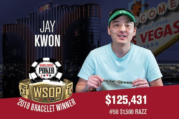 Jay Kwon Denies Dzmitry Urbanovich First World Series of Poker Bracelet In $1,500 Razz Event