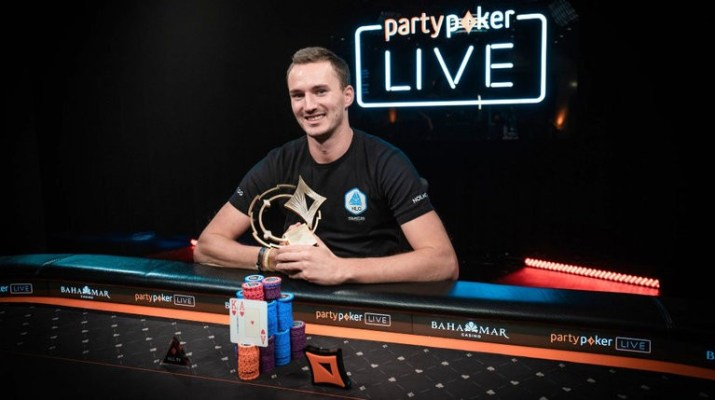 Steffen Sontheimer Wins 2018 Caribbean Poker Party $250,000 Super High Roller Championships
