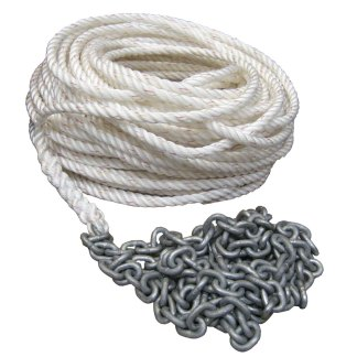 Complete Anchor Lines with Chain and Rope