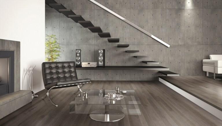 interior design of modern architecture living room