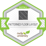 Patterned Floor Layout