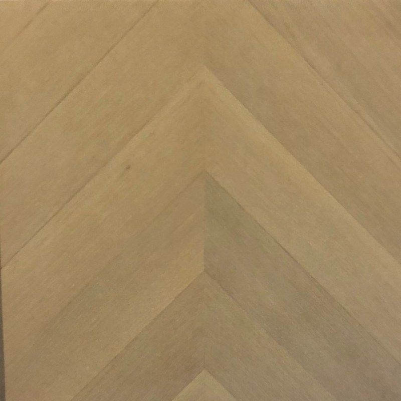 Chevron Rift Only White Oak with Natural Oil