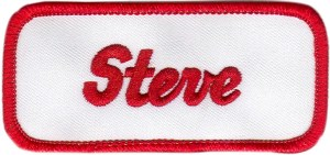 steve-name-patch-with-merrow-border-red-white