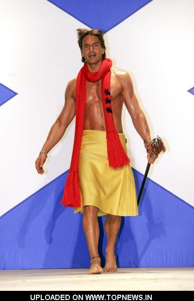 "7th Annual ""Dressed To Kilt"" Charity Fashion Show - Runway"