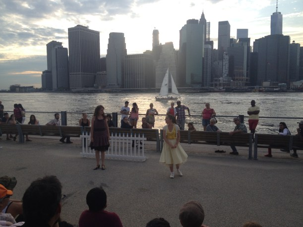 random access theatre taming of the shrew manhattan skyline