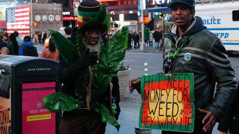 need money for weed times square