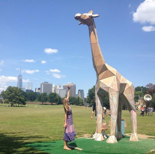figment giraffe governors island