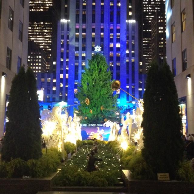 rockefeller christmas tree beautiful