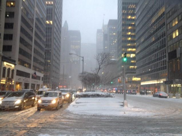 NYC blizzard 2015