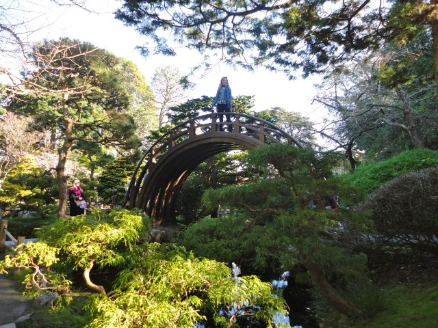 japanese tea garden SF bridge