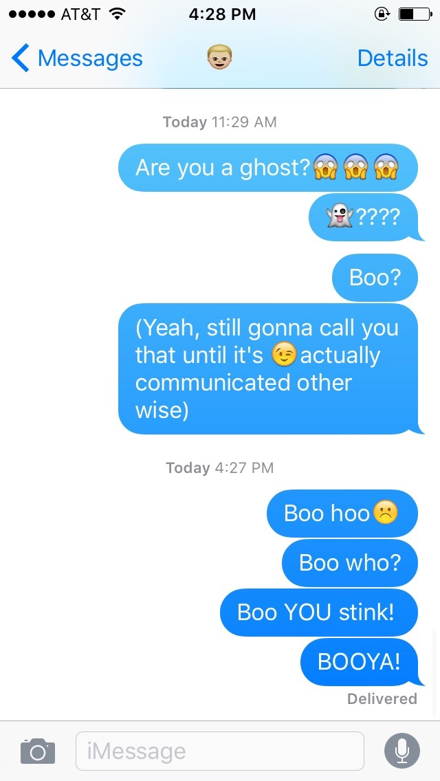 How to respond to ghosting