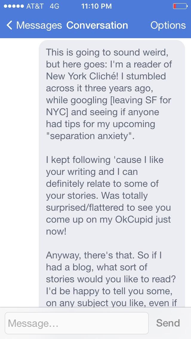 Should i message him first online dating