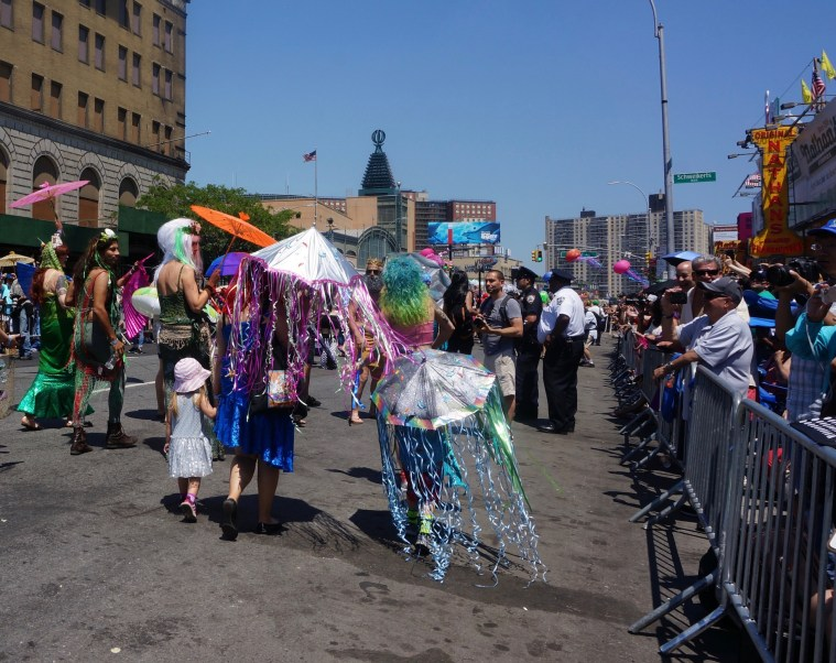 coney island mermaid parade route