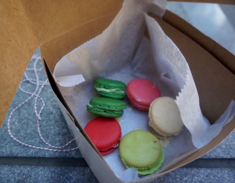 la delice pastry shop macarons