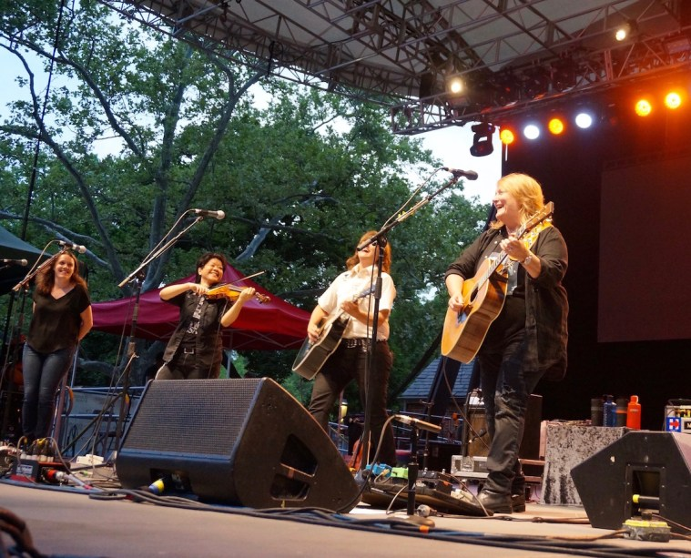 indigo girls summerstage central park