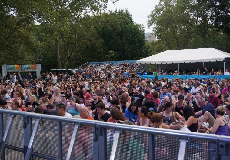 summerstage central park audience