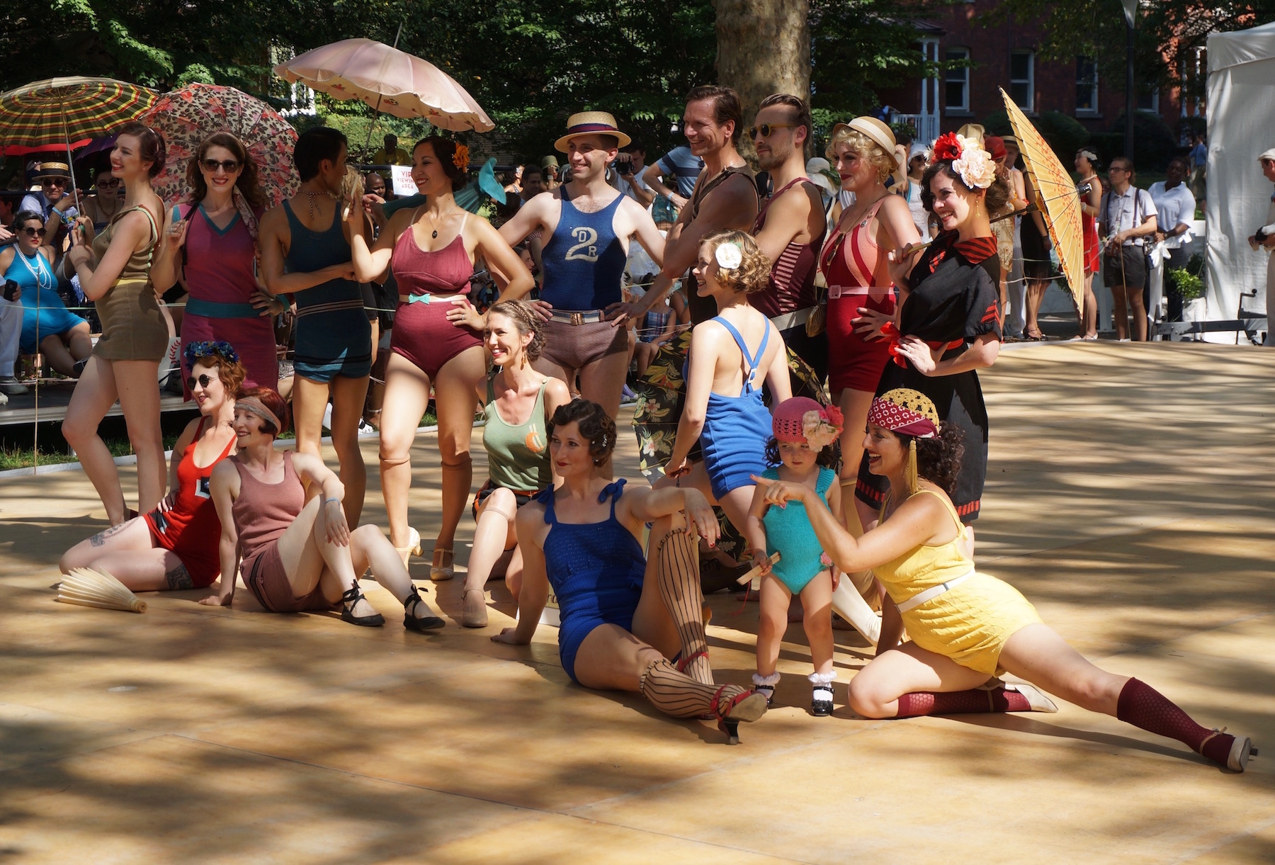Jazz Age Lawn Party Bathing Beauties