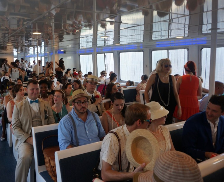 jazz age lawn party ferry