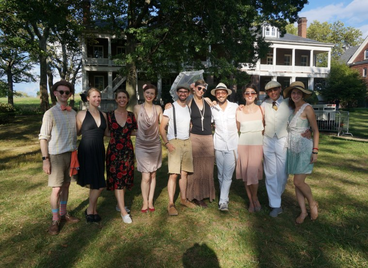 jazz age lawn party friends