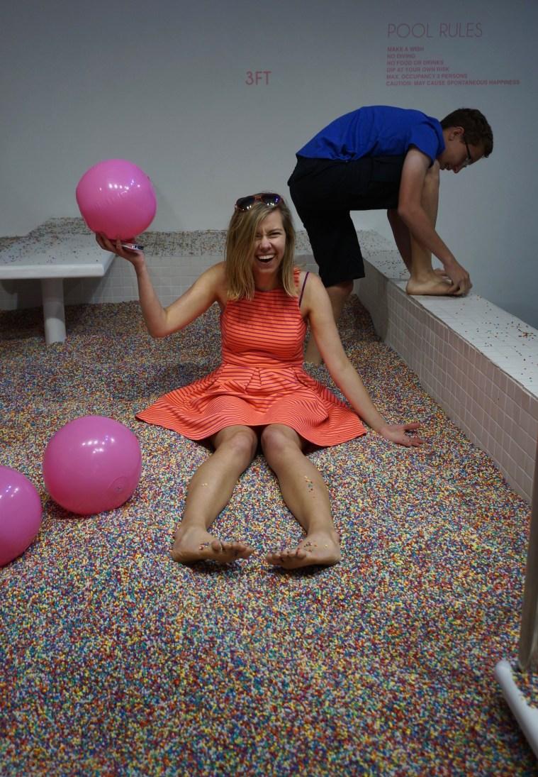 museum of ice cream sprinkles pool