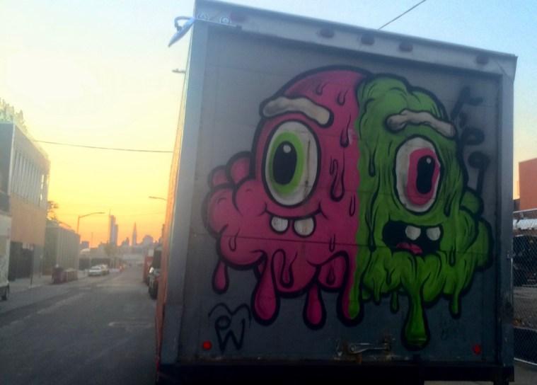 street art box truck