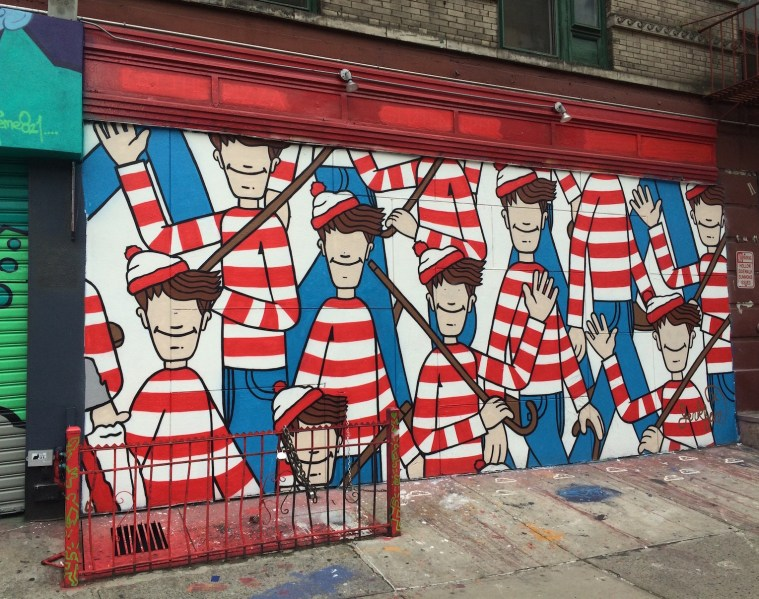 waldo wall nyc