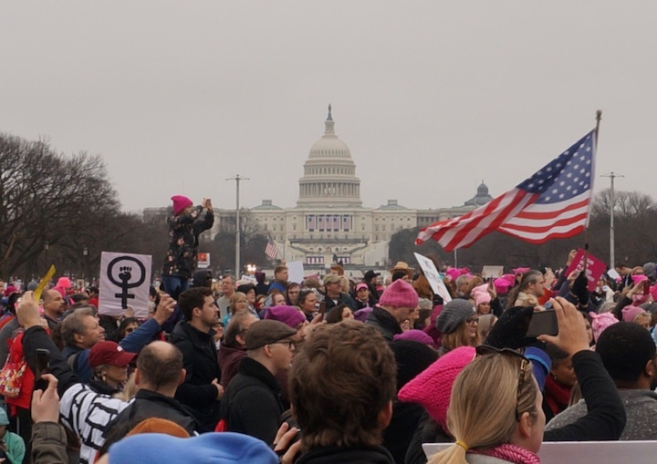 womens march washington dc capitol