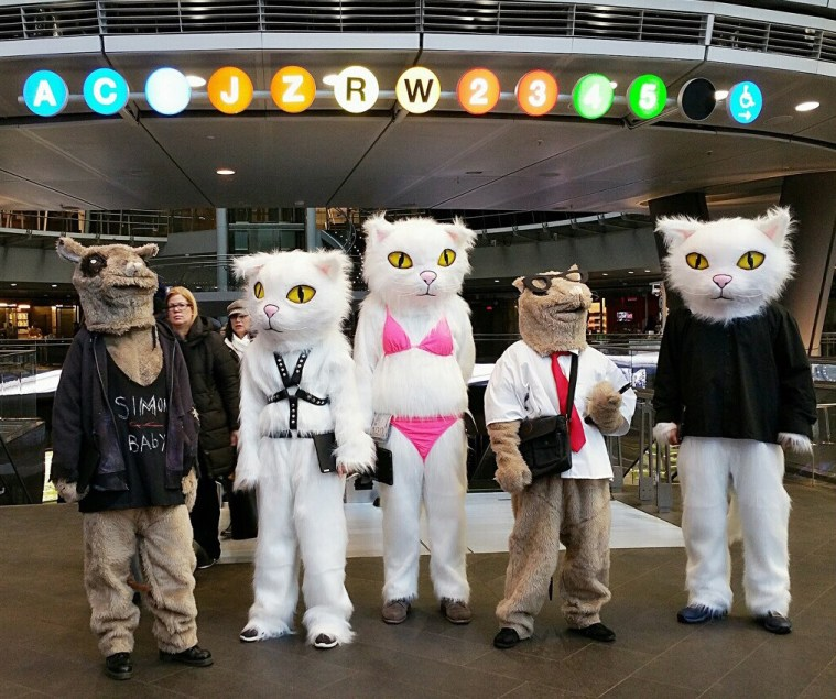 cats rats nyc costumed characters