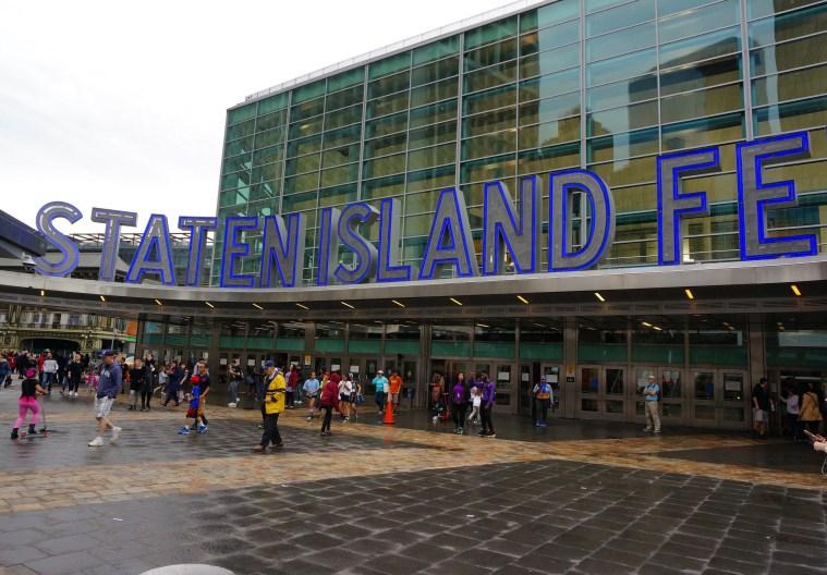 Staten Island Ferry terminal nyc