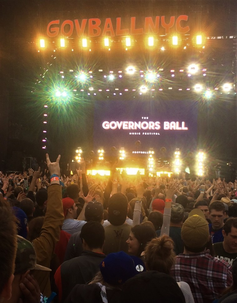 gov ball nyc cage the elephant
