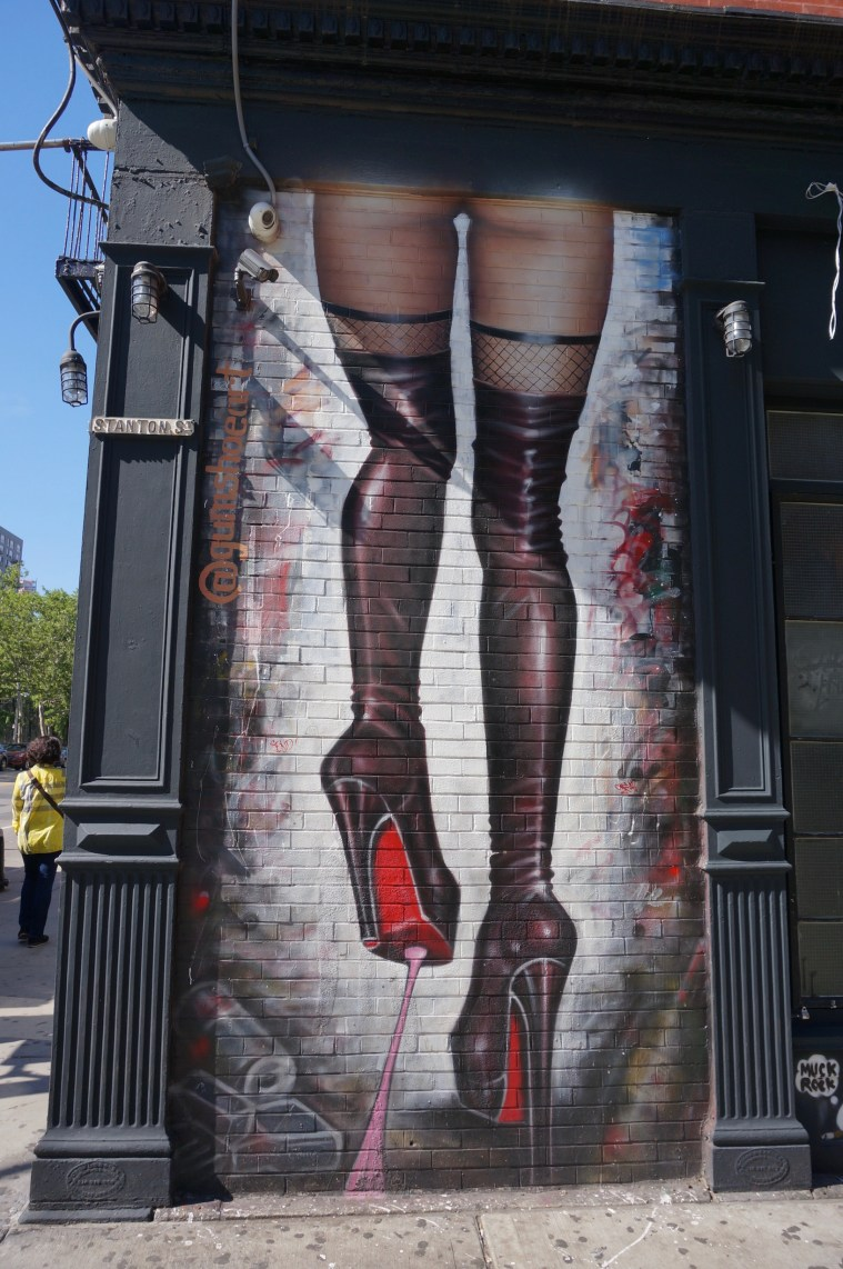 Street Art Saturday Naughty Bunnies And Lower East Side Legs