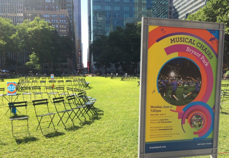 Bryant Park Yoga and Other Awesome Free NYC Summer Events