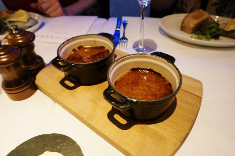 Foie gras Northbank restaurant London