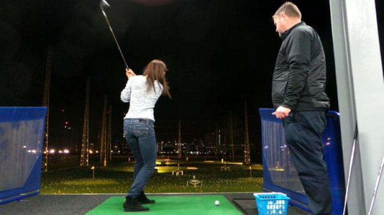 New Yorker Meets London Golf