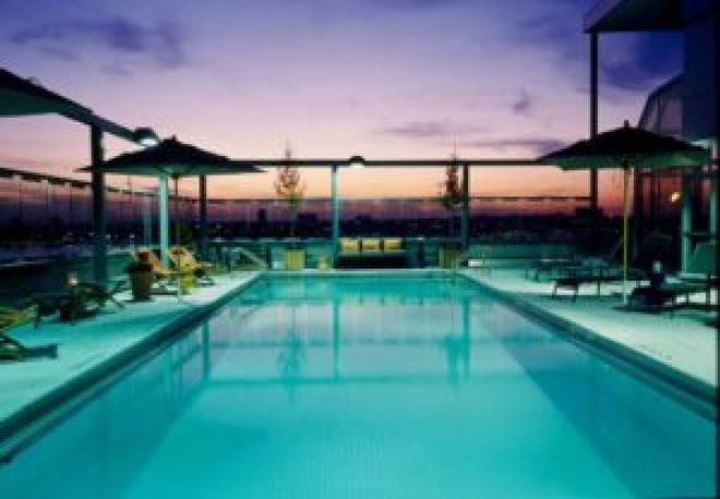 Gansevoort Hotel in Meatpacking Rooftop Pool NYC