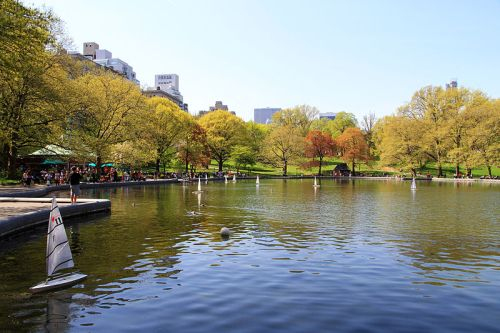 Conservatory Water Central Park NYC