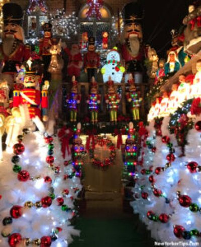 Dyker Heights Christmas Lights 2016 - lucy spata house