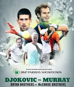 world tennis day 2014 257x300 BNP Paribas Showdown: Racketeering Permitted