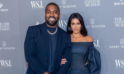 Kanye west amd Kim