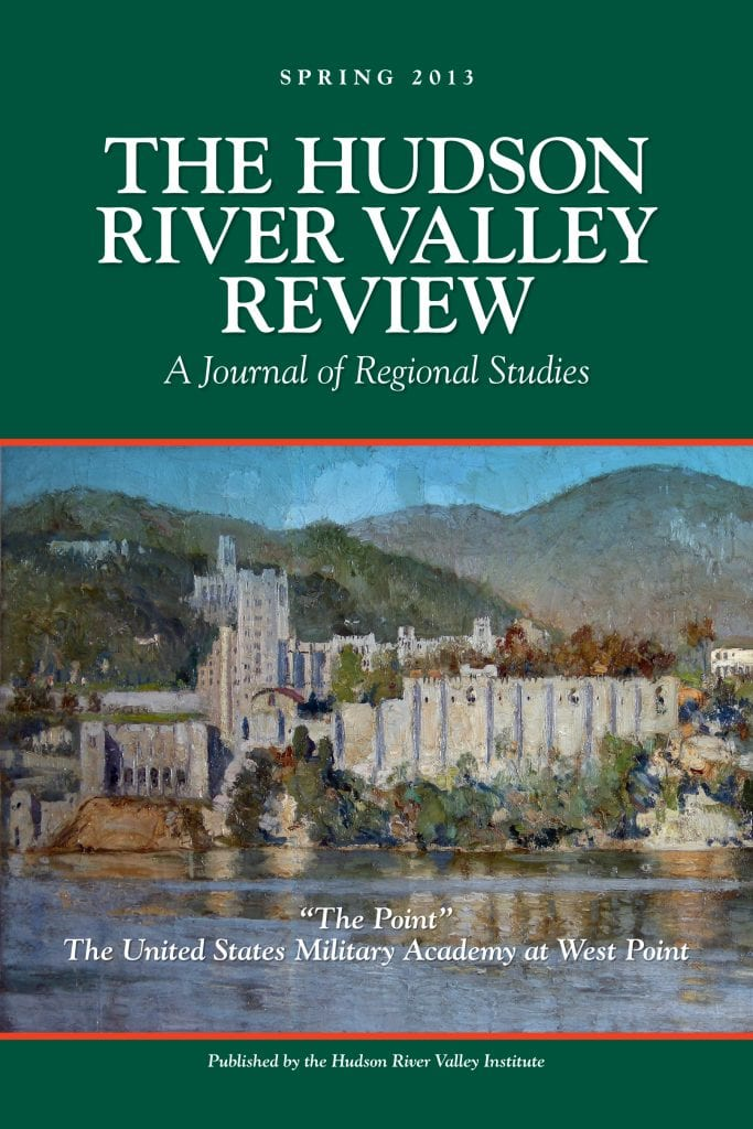 Hudson River Valley Review Spring 2013 Issue  The New