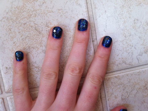 March Manicure Madness, Day Four: Starry, Starry Night (5/5)