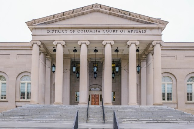US Court of Appeals in Washington DC