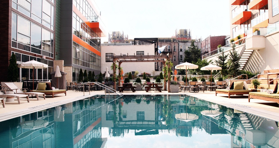 Les piscines  New York